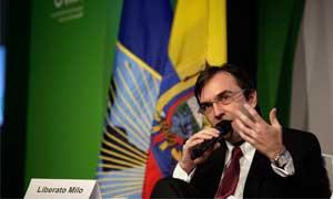 Liberato Milo, Presidente Ejecutivo de Nestlé Ecuador